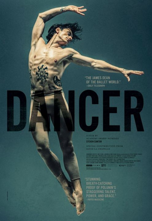 Filmplakat Dancer - Bad Boy of Ballett